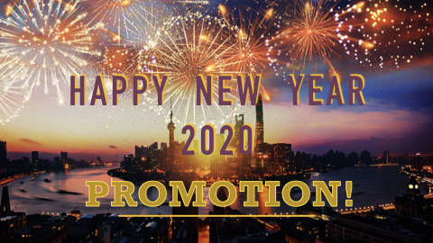 HAPPY NEW YEAR PROMOTION!